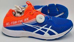 ASICS-GEL-451-Laceless-Baskets-T824N-Flash-Corail-Bleu-Boa-Fermeture-UK6-US7-E40