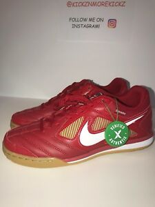 wholesale dealer 0fdfb 06501 Image is loading Supreme-x-Nike-SB-El-Gato-Size-5-