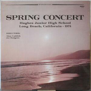 HUGHES JUNIOR HIGH SCHOOL Spring Concert 1974 LP Alan Caddick/Joe Rodgers SEALED