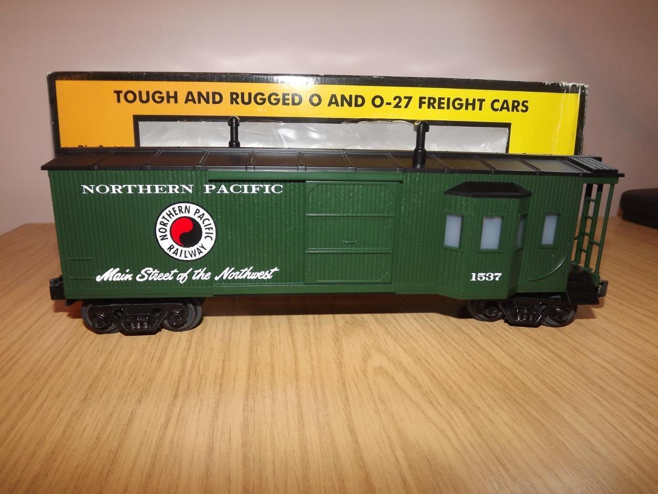 Ab237   MTH O Gauge Northern Pacific Work Caboose 30-7725 - Exc Boxed