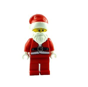 Lego-Nikolaus-Weihnachtsmann-Minifigur-Neu-Santa-Claus-Minifigures-Minifig-New
