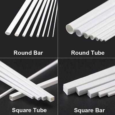 ABS L-Type Bars 2x2mm//3x3mm//4x4mm Styrene Plastic Strips Rod White Length 250mm
