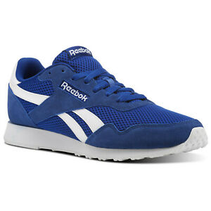 Reebok-Classic-Royal-Ultra-Blue-UK-11-5-Baskets-Chaussures-Homme-B-grade-NEUF