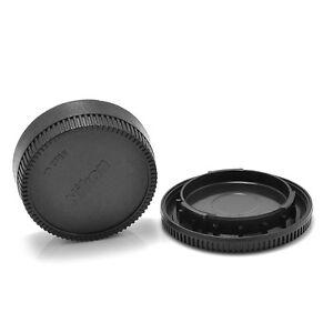 2PCS For Nikon AF AF-S Lens DSLR SLR Camera Body Lens Cap Cover (Front + Rear) 1004587708839
