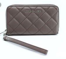 8269bf8a5408c5 item 4 Michael Kors Jet Set Quilted Leather Zip Purse Phone Wallet Wristlet  Grey*BNWT* -Michael Kors Jet Set Quilted Leather Zip Purse Phone Wallet  Wristlet ...
