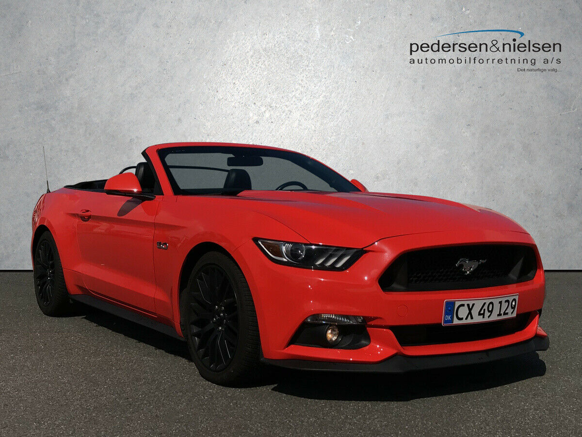 Ford Mustang 5,0 V8 GT Convertible aut. 2d