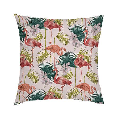 """Multi Flamingo homme à imprimé 18/"""" Extérieur Housse De Coussin Imperméable Jardin"""