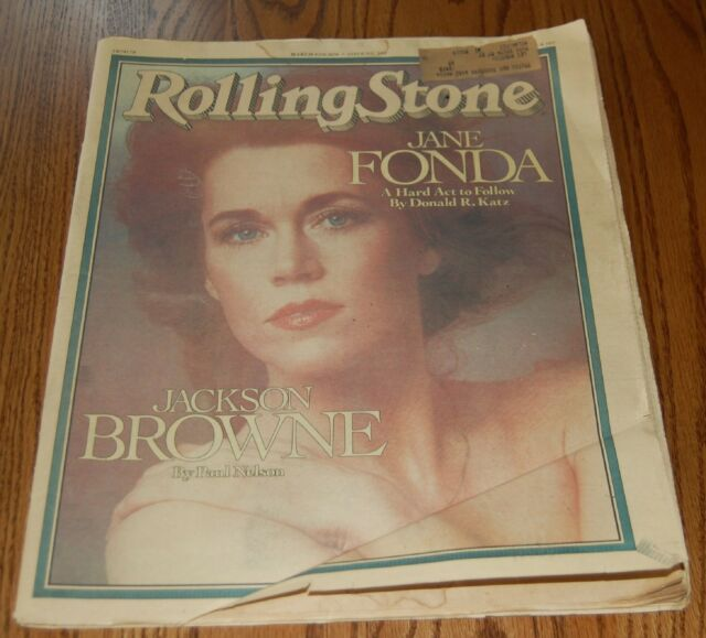 March 9 1978 issue of Rolling Stone Jane Fonda Cover