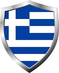 Greece-Flag-Shield-Decal-Sticker