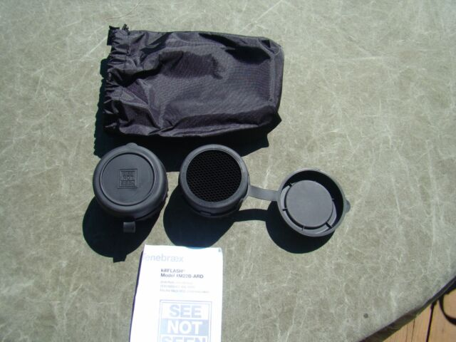 4 Tenebraex Kill Flash Shield M22 M22B 7X50 Binoculars Lens Cover See Not Seen