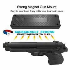 45lb Magnetic Holster Gun Holder Magnet Mount Concealed Pistol Car Under Desk