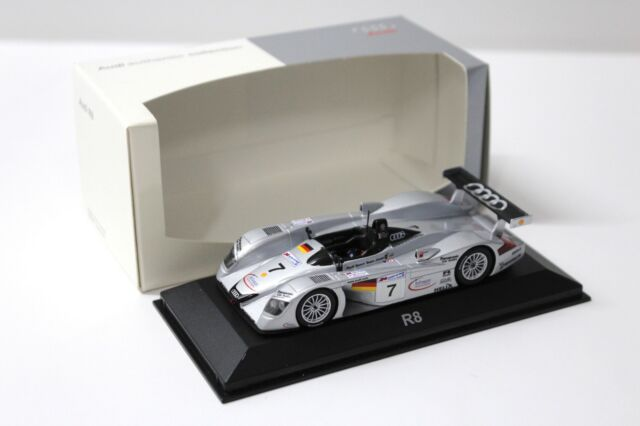 1:43 Minichamps Audi R8 Le Mans #7 DEALER NEW bei PREMIUM-MODELCARS