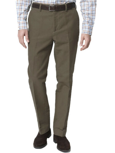 Brentwood Mens Cotton Moleskin TrousersBritish Made Durable Country Wear