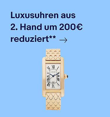 Luxusuhren aus 2. Hand um 200€ reduziert**
