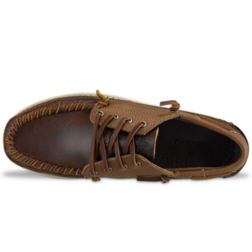 Sebago Campsides Seneca Leather Moccasin Shoes Brown BNIB Sebago Shoes