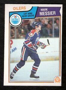 1983-84-OPC-O-Pee-Chee-MARK-MESSIER-39-NM-Mint-Hockey-Edmonton-Oilers