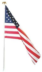 NEW-VALLEY-FORGE-AA-US1-1-USA-MADE-3-039-X-5-039-UNITED-STATES-FLAG-amp-POLE-6234785