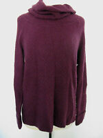 Mac & Jac Womans Purple Nylon Blend Turtleneck Size M,