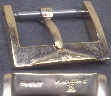 Original Longines Buckle Fibbia 16mm Rose Gold Plated Excellent ! L@@K ! !