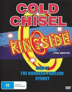 COLD-CHISEL-RINGSIDE-PAL-All-Regions-DVD-JIMMY-BARNES-IAN-MOSS-NEW