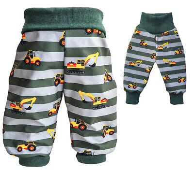 Gr.98//104 oder 104//110 Pumphose Softshell Herbst Winter Baby Kinder Hose NEU
