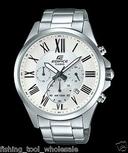 EFV-500D-7A-Brown-Men-039-s-Watches-Casio-Edifice-Chronograph-100m-New