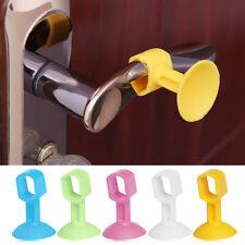 Pink Door Handle Pad Wall Mute Anti-collision Home Sucker Crash Protection