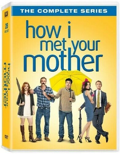 How I Met Your Mother The Complete Seasons 1 5 Dvd Tv Series Comedy For Sale Online Ebay