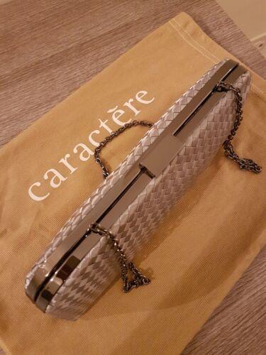 Cerimonia Caractère Borsa GrigioArgento Donna Raso 0wkOnP