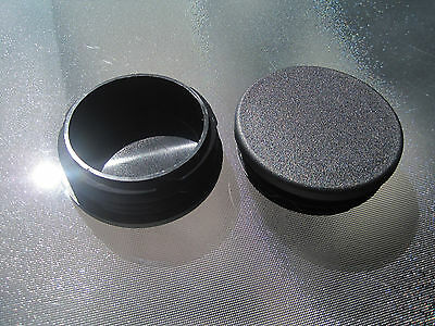 """3"""" Tube Bumper End Cap Hole Plug -  Fits Smittybilt TA25 Pipe Jeep Bumpers"""