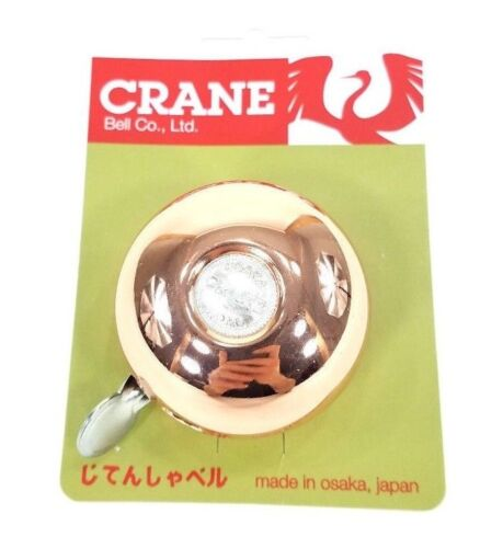 Copper Crane Bell Company Riten Bicycle Bell
