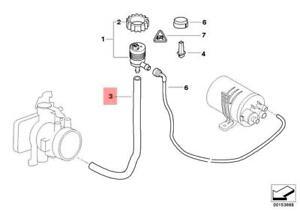Details about Genuine BMW E46 Coupe Fuel Tank Breather Valve Hose Elbow OEM  13901705271