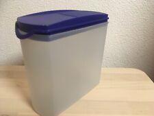 Vorratsbehälter A 142-1,6 ltr Tupperware Eidgenossen Plus - blau