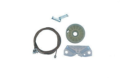 Window Regulator Repair Kit For Mercedes CLK A209 C209 Rear Left Quarter Side 2003-2009