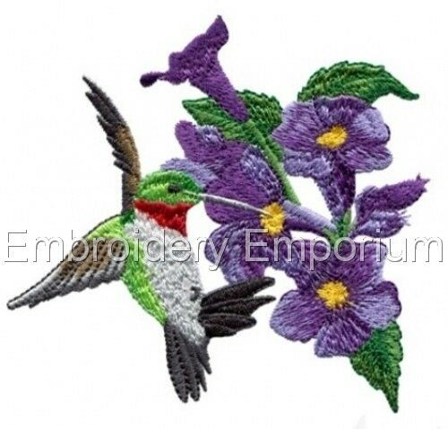 MACHINE EMBROIDERY DESIGNS ON CD OR USB HUMMINGBIRD ENCHANTMENT COLLECTION