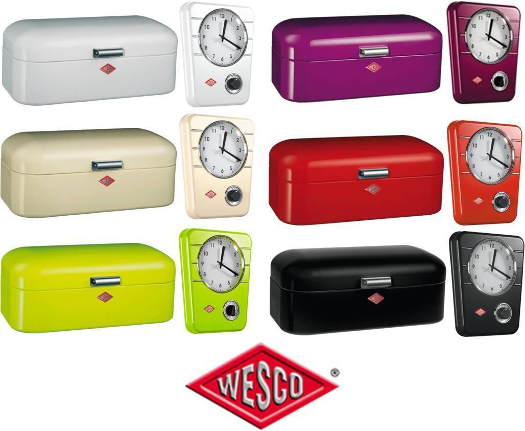 WESCO panera Grandy con  Reloj cocina con Grandy temporizador 12cc8e