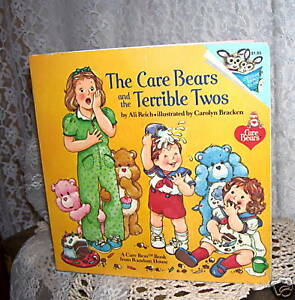 THE-CARE-BEARS-AND-THE-TERRIBLE-TWOS-by-Ali-Reich-1983-BOOK
