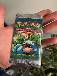 booster pokemon 1ère Edition edition 1 set de base PCA PSA Non Ouvert