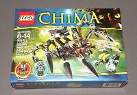 Lego Chima Sparratus' Spider Stalker Set 70130 W Gorzan Minifigure