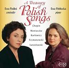 Treasury of Polish Songs a Various Composers Audio CD