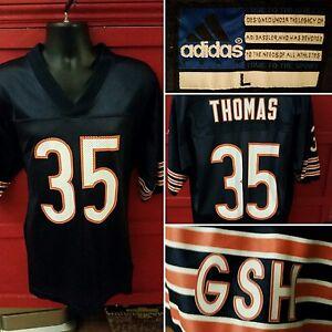 Adidas Jersey  35 Anthony Thomas Chicago Bears GSH NFL Football Mens ... 615e58a0d