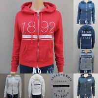 Abercrombie & Fitch Women Hoodie All Sizes Green Gray Blue Pink