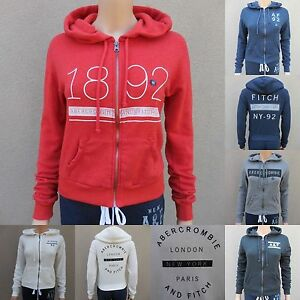 ABERCROMBIE-amp-FITCH-WOMEN-HOODIE-All-Sizes-NWT-green-GRAY-blue-PINK-new