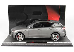 Bbr 2018 Maserati Levante Trofeo 3.8L V8 (590hp) Mate grigio 1 18 Le40 Bbr C1844a