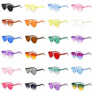 Women-Men-Fashion-Clear-Retro-Sunglasses-Outdoor-Frameless-Eyeglass-Accessories