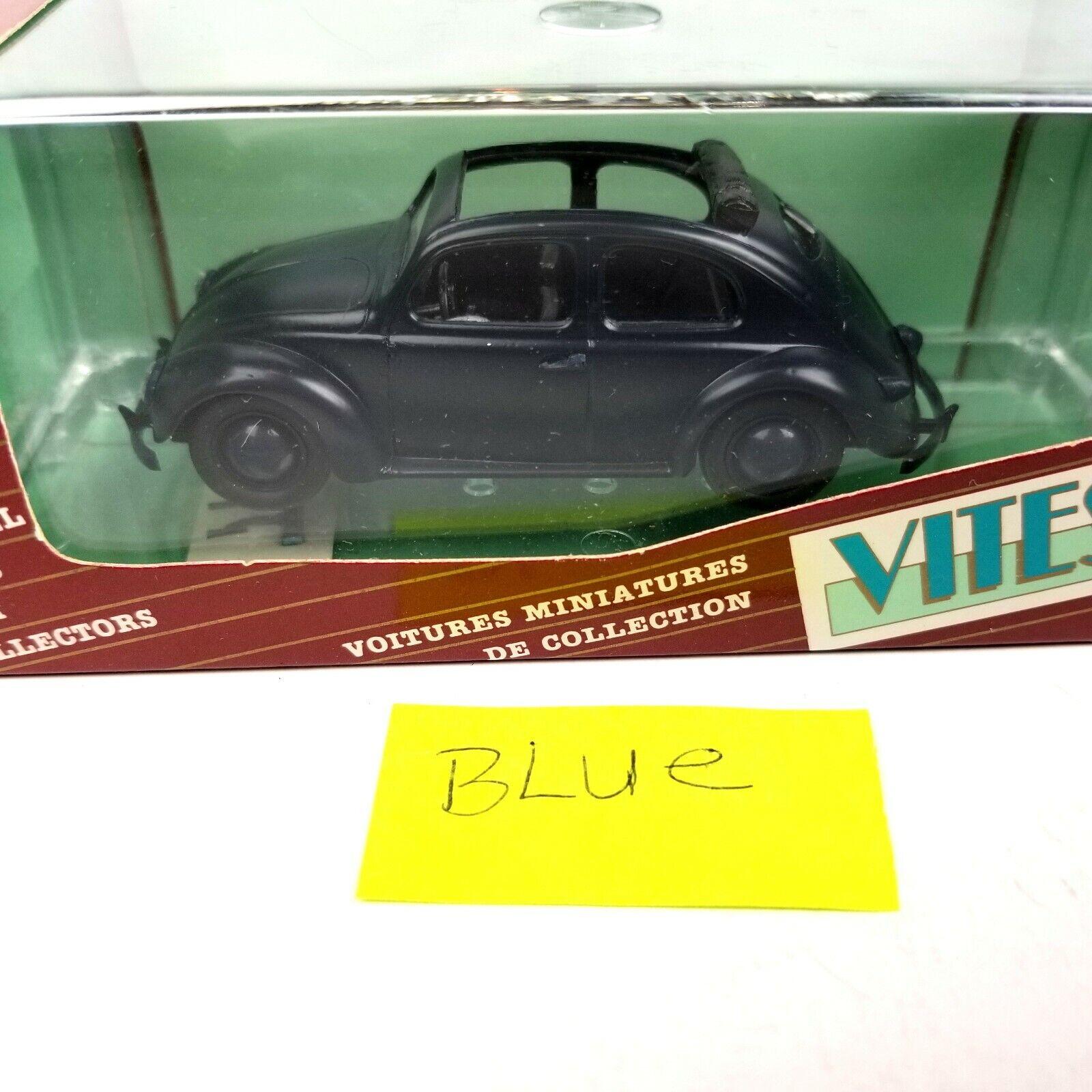Vitesse Volkswagen Sedan with Sunroof Sunroof Sunroof bluee Collectible Model Car NIB 1161ed