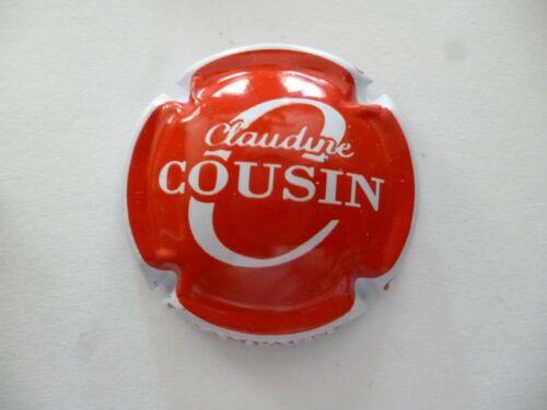 NOUVELLE centre rouge à saisir capsule COUSIN Claudine contour blanc
