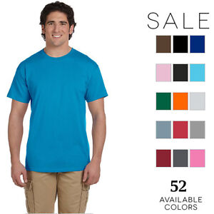 Fruit-of-the-Loom-Mens-5-oz-Heavy-Cotton-HD-T-Shirt-3931-10-PACK-All-Sizes