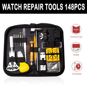 Uhrenwerkzeug-Set-148tlghr-Uhr-Reparatur-Uhrmacherwerkzeug-Batteriewechsel