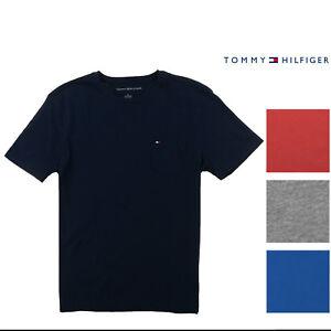 Tommy-Hilfiger-Mens-Crew-Neck-Pocket-T-shirt